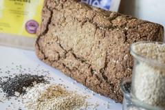 Humus kruh quinoa