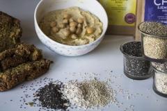 Humus quinoa chia