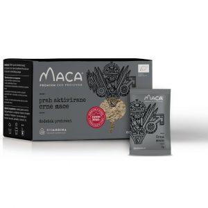 Crna aktivirana Maca – kutija 150g (30x5g)