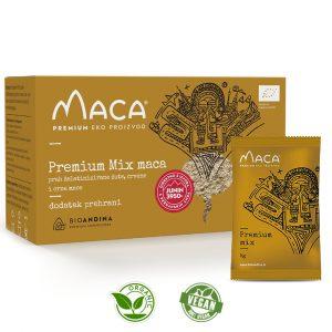 Premium MIX aktivirana Maca prah – kutija 150g (30x5g)