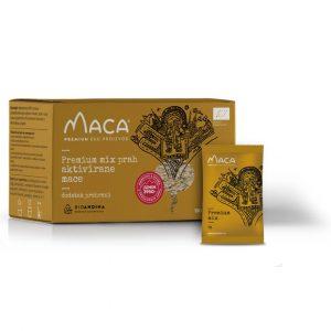 Premium MIX aktivirana Maca – kutija 150g (30x5g)