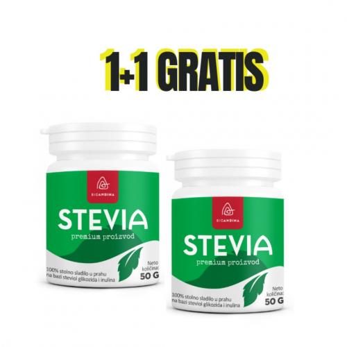 Stevia sladilo u prahu 50g