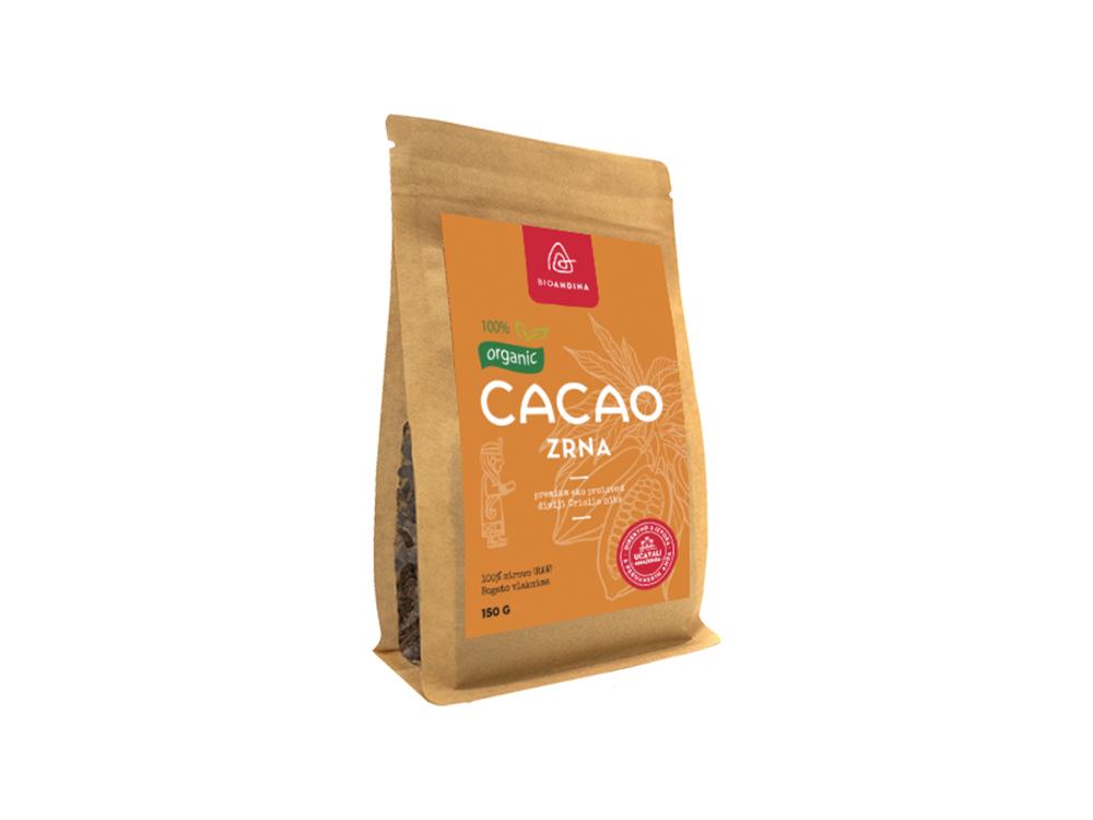 Bioandina kakao zrna 150g