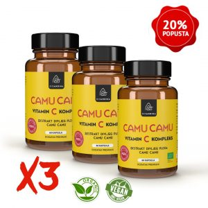 Camu Camu BIO kapsule – 3x paket