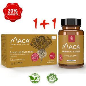 Premium MIX Maca – prah + kapsule